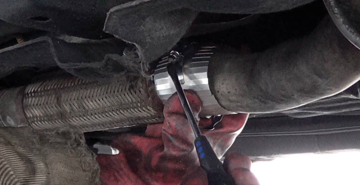 exhaust repair car care service