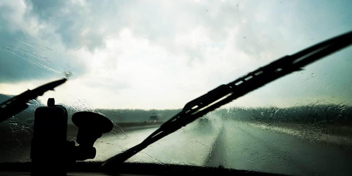 winter safety check wipers car